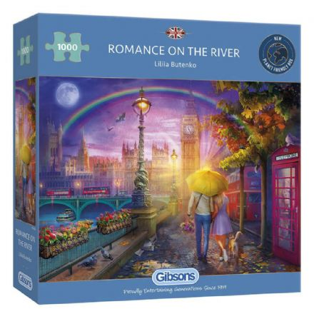 Romance on the River 1000 Piece Gibsons Jigsaw